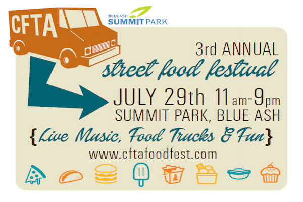 If you weren't at Summit Park in Blue Ash for the Food Truck Fest, you missed a great event and a lot of YUM!