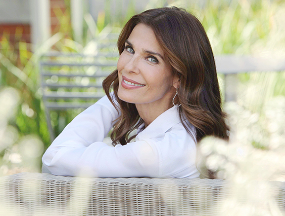 "Kristian Alfonso ""Days of our Lives"" Set NBC Studios Burbank 07/14/15 © Howard Wise/jpistudios.com 310-657-9661"