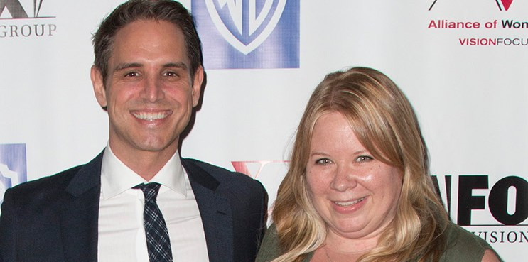 BEVERLY HILLS, CA - APRIL 28: (L-R) Chief executive of Warner Bros. Television Peter Roth, producer and AWD honoree Greg Berlanti and producer and AWD presenter Julie Plec attend the 1st Annual Alliance of Women Directors awards and benefit at the Paley Center for Media on April 28, 2016 in Beverly Hills, California.  (Photo by Tasia Wells/Getty Images)