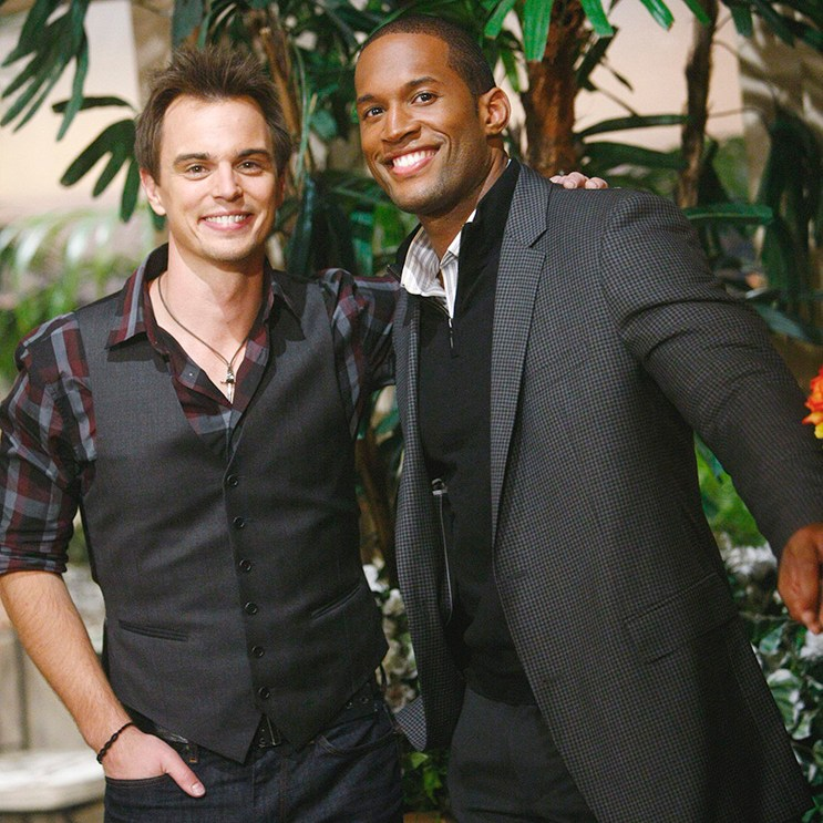 "Darin Brooks, Lawrence Saint Victor ""The Bold and the Beautiful"" Set  CBS Television City Los Angeles, Ca. 10/15/13 © sean smith/jpistudios.com 310-657-9661"