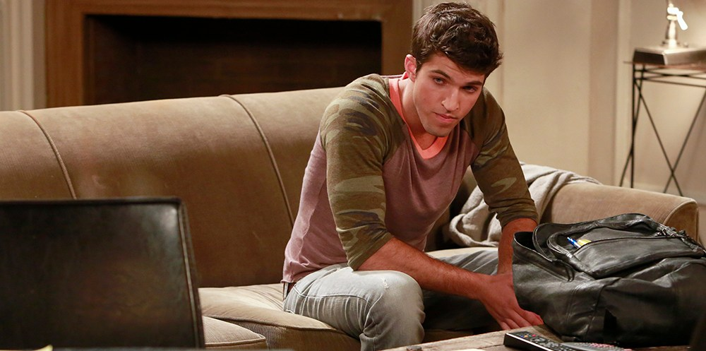 """GENERAL HOSPITAL - Bryan Craig (Morgan) in a scene that airs the week of May 27, 2013 on ABC's """"General Hospital.""""  """"General Hospital"""" airs Monday-Friday (2:00 p.m. - 3:00 p.m., ET) on the ABC Television Network.    GH13 (ABC/Ron Tom) BRYAN CRAIG"""