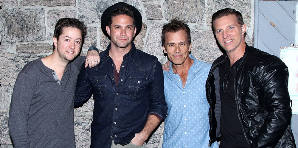 Bradford Anderson, Brandon Barash, Scott Reeves & Steve Burton Port Chuck performs at Govenor's @ The Brokerage November 17, 2016. @Steven Bergman