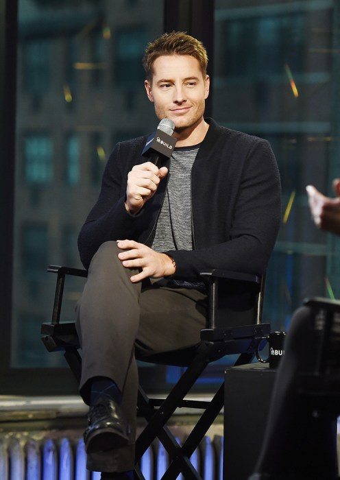 Build Presents Justin Hartley Discussing