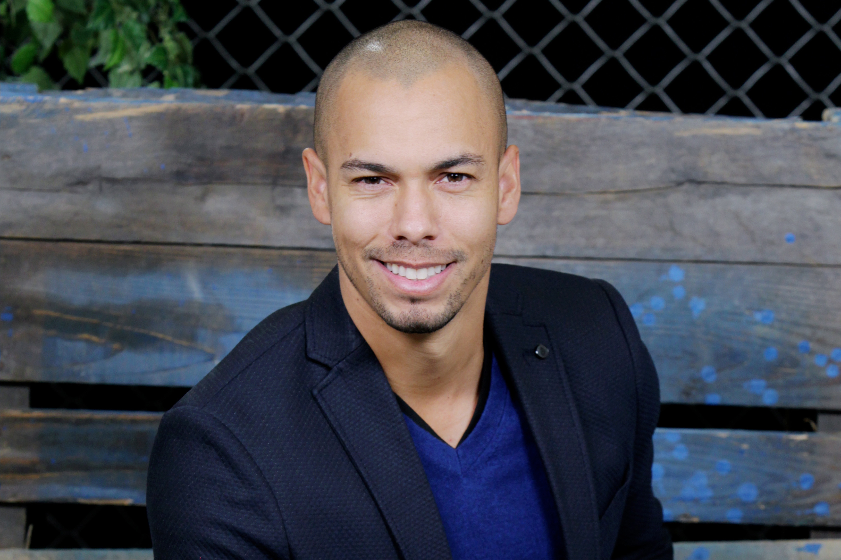 "Bryton James ""The Young and the Restless"" Set Shoot with Bryton James, Mishael Morgan, Kristoff St John CBS television City Los Angeles 12/16/14 © John Paschal/jpistudios.com 310-657-9661"