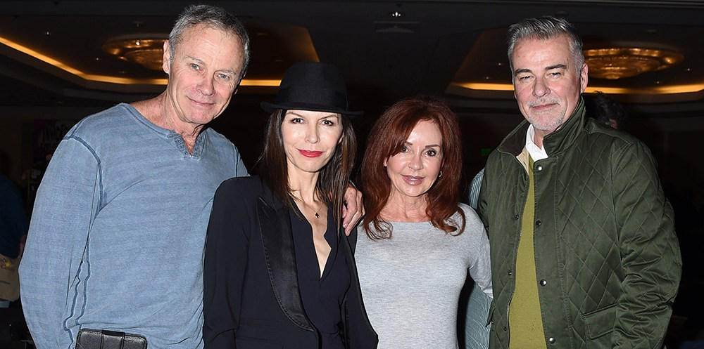Tristan Rogers, Finola Hughes, Jackie Zeman & Ian Buchanan The Hollywood Show - Winter Held at The Westin Los Angeles Airport Hotel on January 7, 2017. @AFF/TA/Steven Bergman