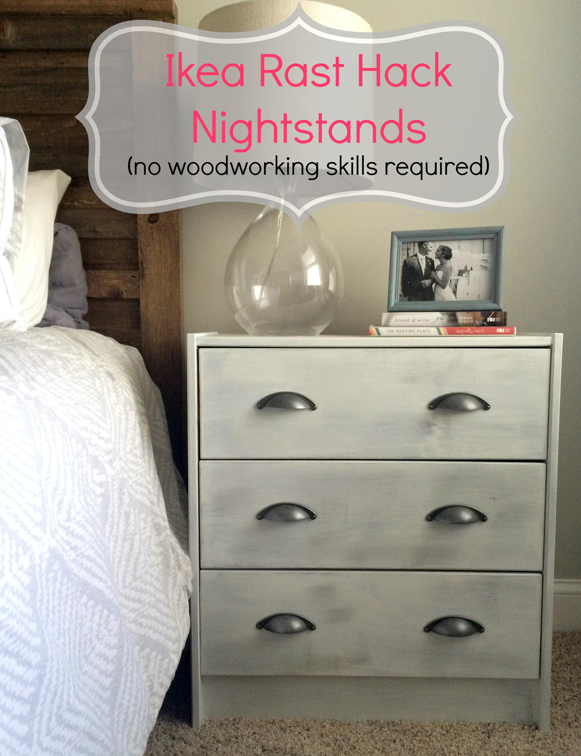 ikea rast hack a nightstand makeover - Ikea Rast
