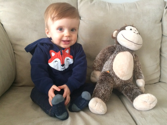 Caleb's 11 Month Update Monkey