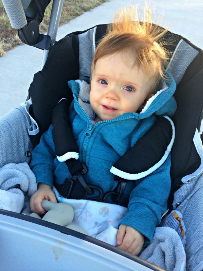 Caleb's 11 Month Update Walk