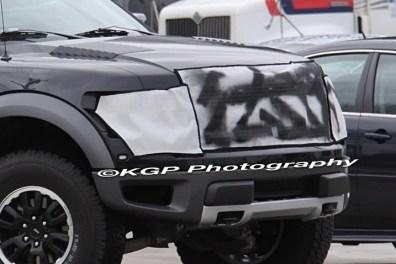 2013 Ford Raptor SVT F-150 Spy Shot 4
