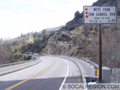Crossing the West Fork of the San Gabriel River