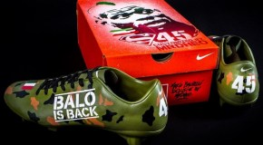 Mario Balotelli Gets Custom Mr. Dheo Boots
