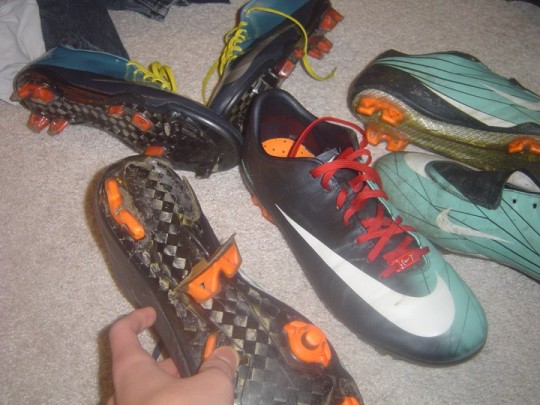Nike Vapor Heel Crack