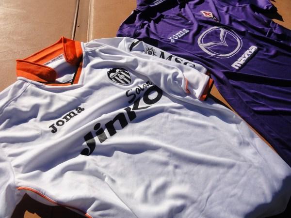 Valencia and Fiorentina Joma Jersey