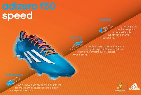 Adidas F50 adiZero Samba