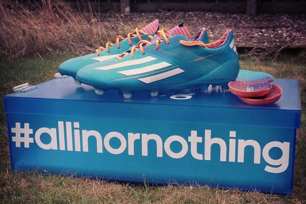 Adidas F50 adiZero allinornothing
