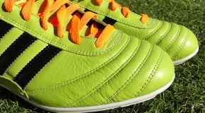 "First Take on the ""Solar Slime"" Adidas Copa Mundial Samba"