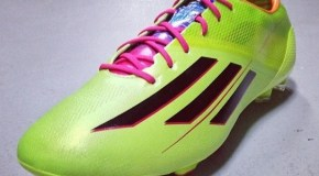 Adidas F50 adiZero in Solar Slime Released