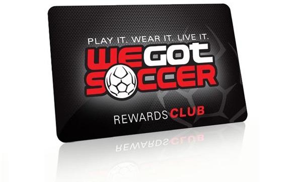 WeGotSoccer Rewards Program