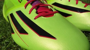 "Up Close With the ""Solar Slime"" adiZero F50"
