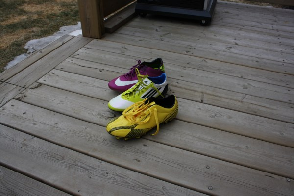 Just Play Cleats with F50 and Vapor VII