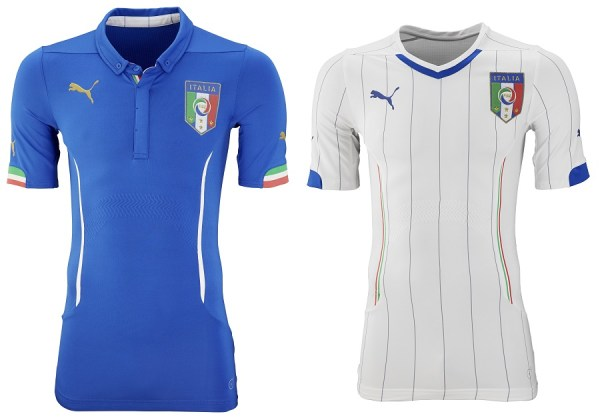 Italy Home and Away Jersey 2014