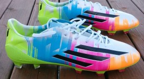 Adidas adiZero F50 Messi Edition – Up close