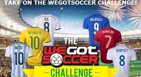 WeGotSoccer 2014 World Cup Jersey Challenge