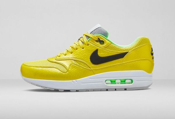 Yellow and green air max