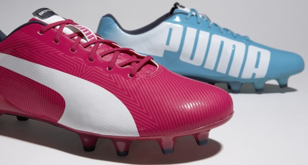 puma pink and blue trainers