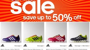 "Check Out What Adidas has in its ""Upto 50% Off Summer Sale!"""