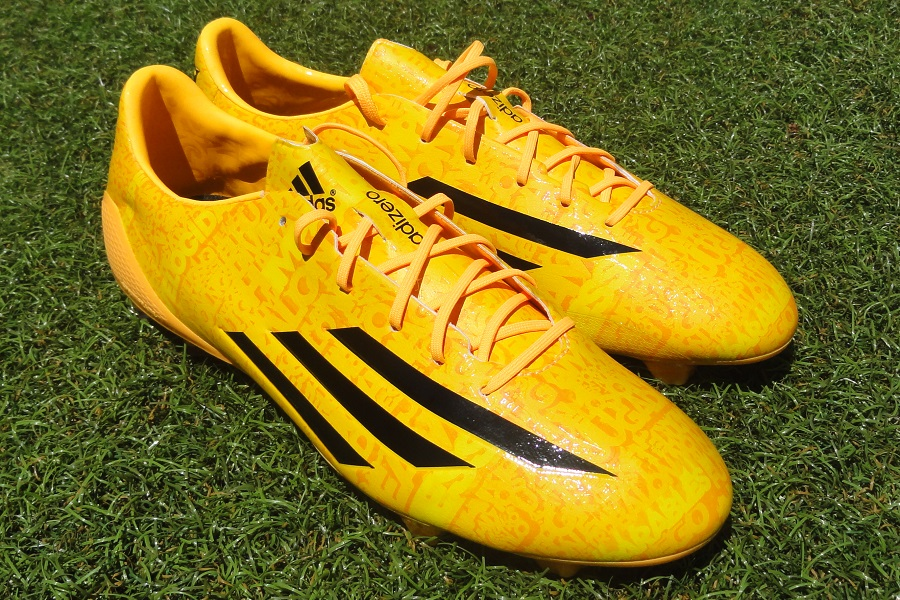 Latest Messi adiZero f50