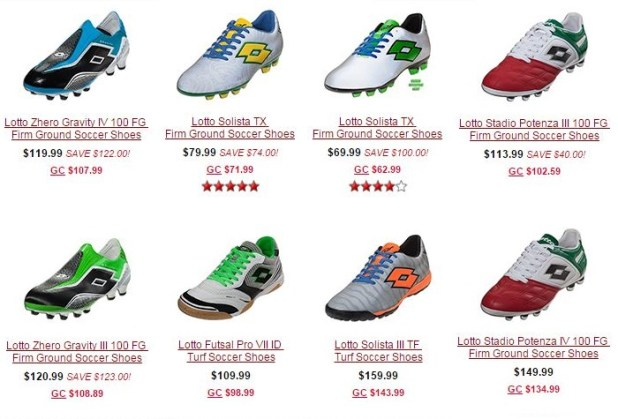 Lotto Boots on Sale