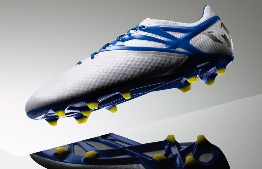 8a52b37b4b58 New Season, New Boots – White/Blue Adidas Messi 15.1 Released ...