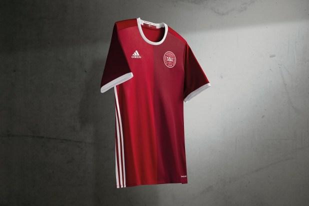 Denmark Euro 2016 Home Kit