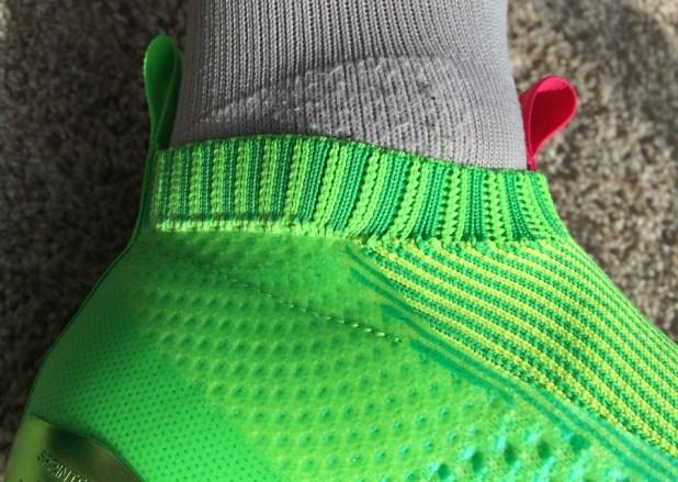 Adidas ACE16+ PURECONTROL Heel Cut