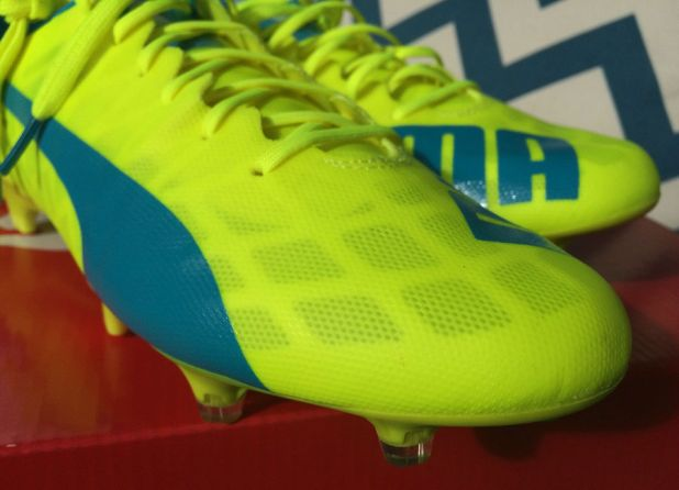evoSPEED SL Safety Yellow Forefoot