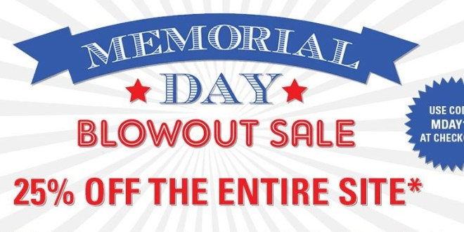 WeGotSoccer Memorial Day Blowout Sale!