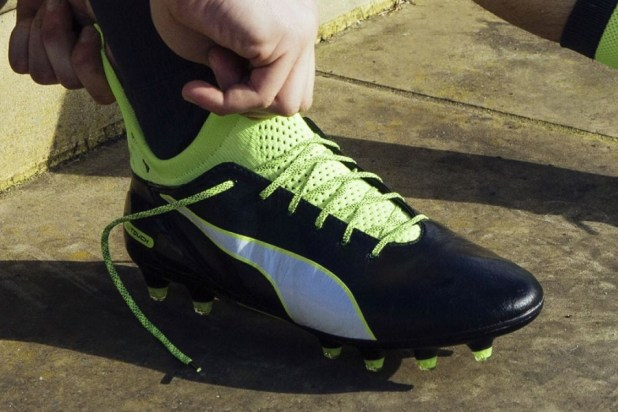 Puma evoTOUCH Putting Them On