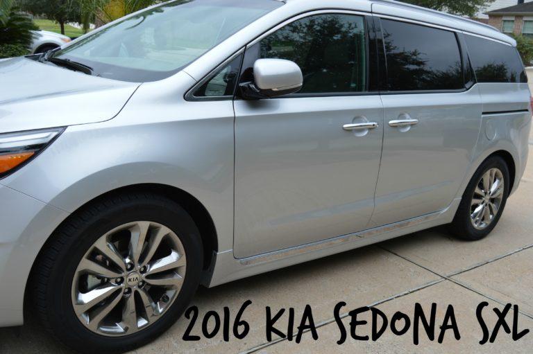 Elevating My Soccer Mom Status- 2016 Kia Sedona SXL