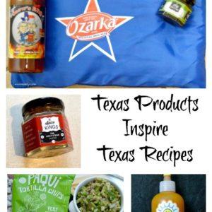 Texas Products Inspire Texas Recipes