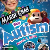 """Fifth Annual """"Mardi Gras for Autism"""" Expects 3,000 People Raising Funds and Awareness for Autism"""