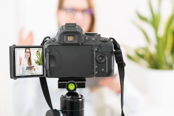 A digital SLR is a great choice for recording quality video.