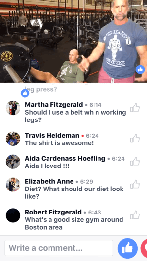 Celebrity Trainer Mike Ryan demonstrates how to use the leg press machine on this Gold's Gym Facebook Live broadcast.