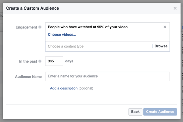 Use the duration of video views to guide your remarketing.