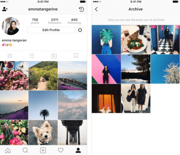 Instagram widely released its new Archive feature to all users.