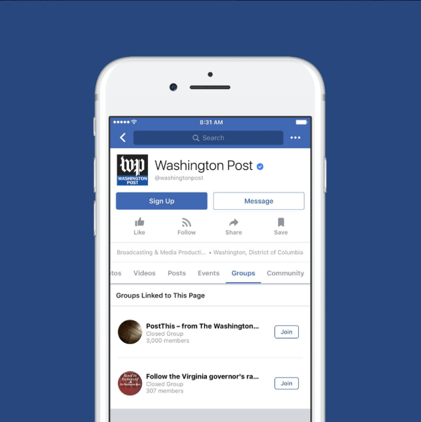 Facebook announced that Groups for Pages is now available around the world.