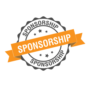 Sponsorships are often available at all levels.
