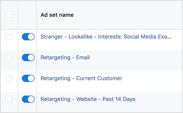 facebook ads ad set naming convention