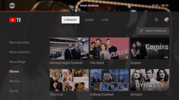 Starting this week, YouTube viewers will be able tostream live TV through the new YouTube TV apps for Android TV devices and for the Xbox One family of devices.