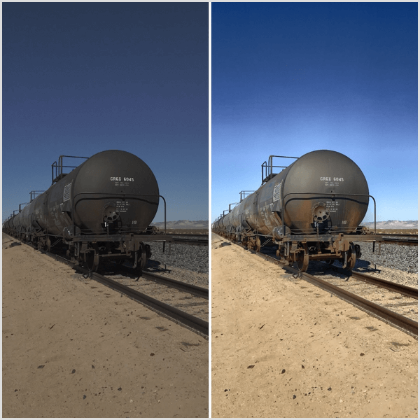 procamera HDR tool example